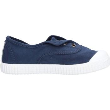 Schuhe Jungen Tennisschuhe Victoria - Slip on  blu 106627 MARINO BLU