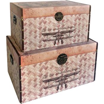 Home Koffer, Aufbewahrungsboxen Signes Grimalt Kisten 2. September Welt September 2U Marrón