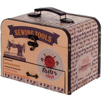 Home Koffer, Aufbewahrungsboxen Signes Grimalt Nähkästchen Marrón
