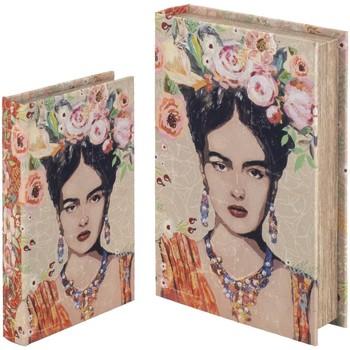 Home Koffer, Aufbewahrungsboxen Signes Grimalt Set Ab 2 Buchboxen Set 2U Naranja