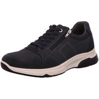 Schuhe Herren Sneaker Low Ara Schnuerschuhe 11-24640-12 blau