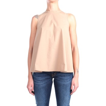 Kleidung Damen Tops / Blusen Sun68 S31204 Muskelshirt Damen Neues Khaki Neues Khaki