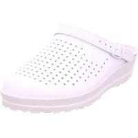 Schuhe Damen Pantoletten / Clogs Beck Hausschuh weiß 1