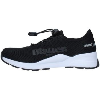 Schuhe Jungen Sneaker Low Blauer S1ANDY01/KNI SCHWARZ