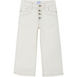Kleidung Mädchen 5-Pocket-Hosen Mayoral  Blanco