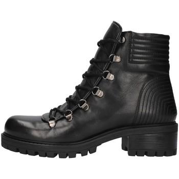 Schuhe Damen Boots Albano 1002 SCHWARZ
