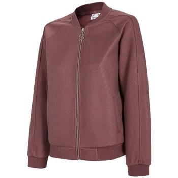 Kleidung Damen Trainingsjacken 4F Women's Sweatshirt Bordeaux