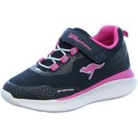 Schuhe Mädchen Sneaker Low Kangaroos Low KQ-Fleet EV 18715/4294 blau
