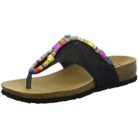Schuhe Damen Zehensandalen Think Pantoletten 3-000211-0000 schwarz