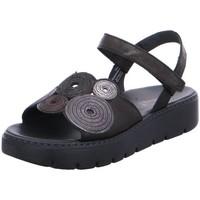 Schuhe Damen Sandalen / Sandaletten Think Sandaletten 3-000376-0000 schwarz