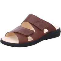 Schuhe Herren Pantoffel Ganter Offene Sandalette HARRY 257020-2400 braun