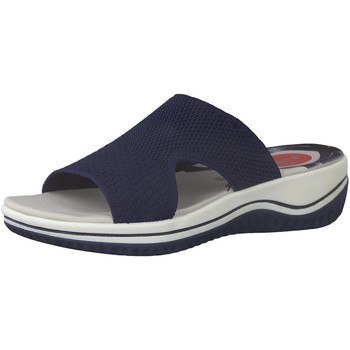 Schuhe Damen Pantoffel Jana Pantoletten R9 8-8-27228-26-805 blau