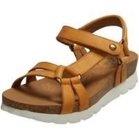 Schuhe Damen Sandalen / Sandaletten Panama Jack Sandaletten Sally Basics B8 Sandalette SALLY BASICS B8 gelb
