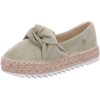 Schuhe Damen Slipper Bullboxer Must-Haves 155001F4T/SAGE grün