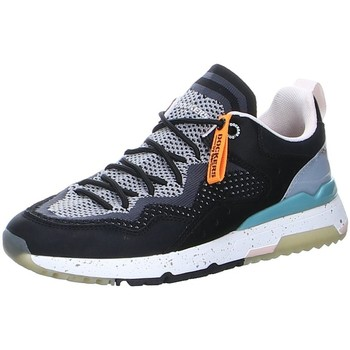 Schuhe Damen Sneaker Low Dockers by Gerli Schnuerschuhe 48JL201-70210 blau
