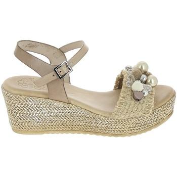 Schuhe Damen Sandalen / Sandaletten Porronet Sandale F12646 Taupe Grau