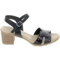 Schuhe Damen Sandalen / Sandaletten Porronet Sandale F12626 Noir Schwarz