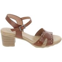 Schuhe Damen Sandalen / Sandaletten Porronet Sandale F12626 Marron Braun