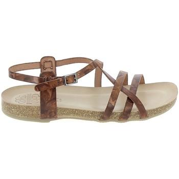 Schuhe Damen Sandalen / Sandaletten Porronet Sandale F12615 Marron Braun