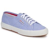 Schuhe Sneaker Low Superga 2750 COTUSHIRT Blau