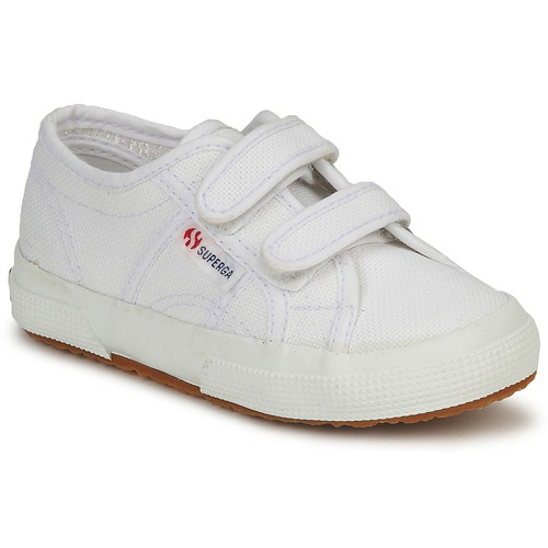 Schuhe Kinder Sneaker Low Superga 2750 STRAP Weiss