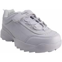 Schuhe Mädchen Sneaker Low Bubble Bobble BOBBLE a3225 weiß Weiss