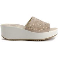 Schuhe Damen Sandalen / Sandaletten Imac 707700 Beige