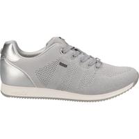 Schuhe Damen Sneaker Low Mexx Sneaker Hellgrau