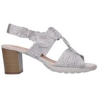 Schuhe Damen Sandalen / Sandaletten Balleri 2046-5 Mujer Plata Argenté