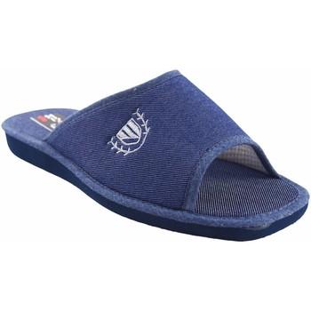 Schuhe Herren Pantoffel Berevere Gehen Sie nach Hause Herr  v 7004 blau Blau