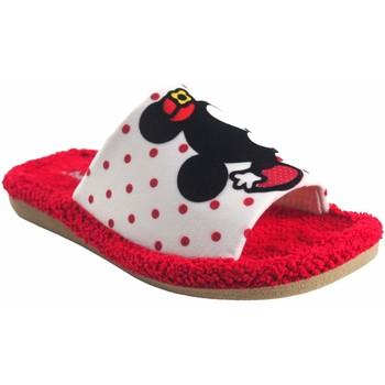 Schuhe Mädchen Pantoffel Berevere Geh nach Hause Mädchen  v 1015 bl.roj Rot