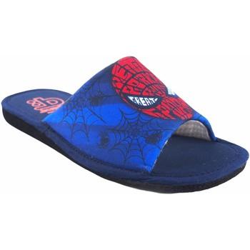 Schuhe Jungen Pantoffel Berevere Geh nach Hause Junge  v 1190 blau Rot