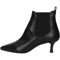 Schuhe Damen Low Boots Albano 0059 SCHWARZ