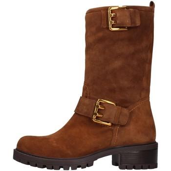 Schuhe Damen Klassische Stiefel Albano 1211 LEDER