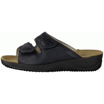 Schuhe Damen Pantoffel Rohde 194056 blau