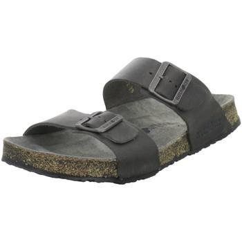 Schuhe Herren Pantoffel Haflinger Offene 819016 730 schwarz