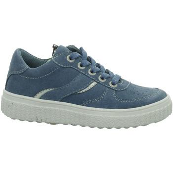 Schuhe Mädchen Sneaker Low Lurchi Schnuerschuhe NADINE 33-13235-22-Nadine blau