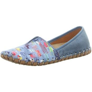 Schuhe Damen Slipper Gemini Slipper 031203-19/808 blau