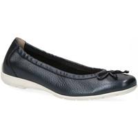 Schuhe Damen Ballerinas Caprice Woms Ballerina 9-9-22106-26/883 883 blau