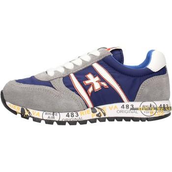 Schuhe Jungen Sneaker Low Premiata - Sneaker grigio/blu 12-38003 GRIGIO-BLU