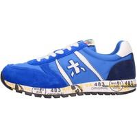 Schuhe Jungen Sneaker Low Premiata - Sneaker azzurro 12-38001 AZZURRO