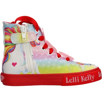 Schuhe Mädchen Sneaker High Lelli Kelly - Unicorn multi rosso LK 9099-BD02 ROSA