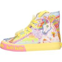Schuhe Mädchen Sneaker High Lelli Kelly - Unicorn multi giallo LK 9090-BQ02 GIALLO