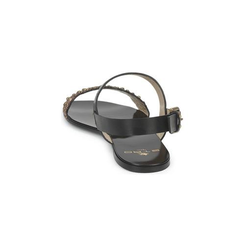 Etro SANDALE 3743 Sandalen Schwarz  Schuhe Sandalen 3743 / Sandaletten Damen 399,20 15911f