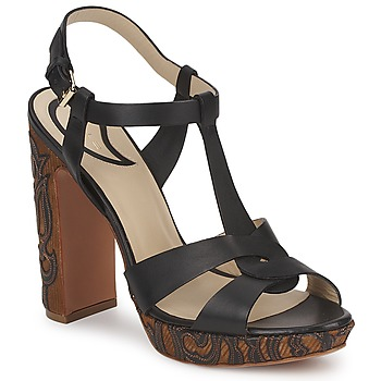 Schuhe Damen Sandalen / Sandaletten Etro NU-PIEDS 3763 Schwarz