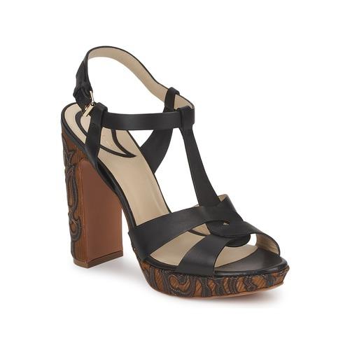 Etro NU-PIEDS 3763 Schwarz Schuhe Sandalen / Sandaletten Damen 389,40