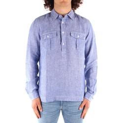 Kleidung Herren Langärmelige Hemden Blauer 21SBLUS01216 BLAU