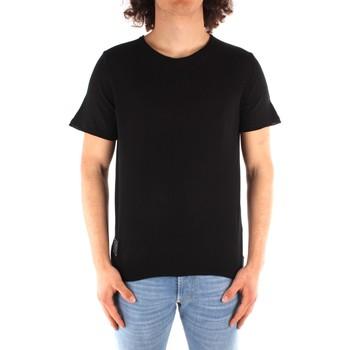 Kleidung Herren T-Shirts Blauer 21SBLUM01319 SCHWARZ