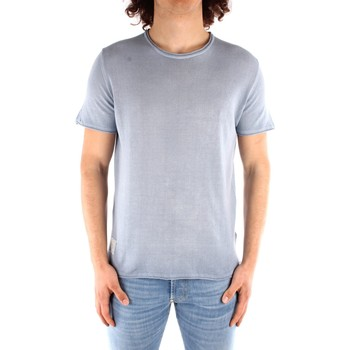 Kleidung Herren T-Shirts Blauer 21SBLUM01319 PARADIESISCH