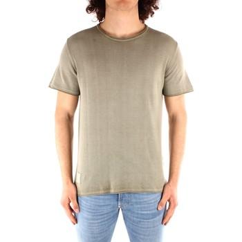 Kleidung Herren T-Shirts Blauer 21SBLUM01319 GRÜN